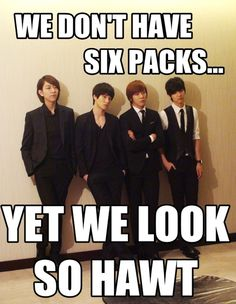 CNBlue Macros. Never seen em with shirts off.....