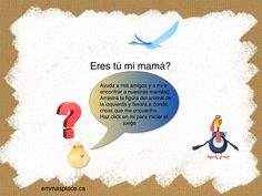 ideas -  Emma's Place My Mom, You And I, My Friend, Thinking Of You, Games, Spanish, Pictures, Ideas, Thinking About You