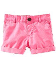 Osh Kosh Toddler Girls' Twill Shorts