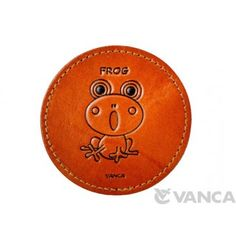 Genuine Leather Leather Coaster Frog is made by skillful craftsmen of VANCA CRAFT in Japan. Leather Coasters, Artificial Flowers, Craftsman, Decorative Plates, The Past, Japanese, 3d, Accessories, Artisan