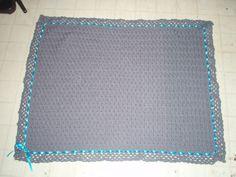 Custom handmade baby blanket. $55, Etsy.