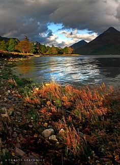 Loch Leven, Highlands, Scotland.                                                                                                                                                                                 More