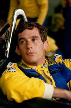"""flyingontheground: """"1987 Spa Ayrton Senna """""""