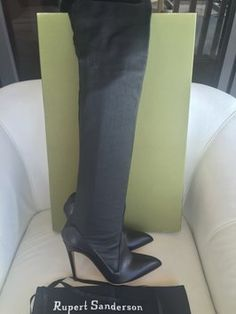 Rupert Sanderson Boot Bootie Black Boots