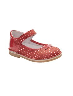 Polka dots girls shoes from French store  vertbaudet / claradeparis.com ♥
