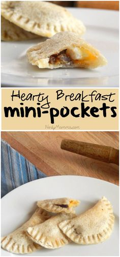 These little breakfast mini-pockets are so cute and the kids love getting them in their lunch boxes. Makes me a good mom, no doubt! LOL!