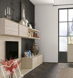 BVolume Loft kitchen by Berloni, Nobilitato Sandy Piombo, App Thin ...