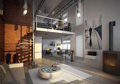LOFT to przestrzeń z wyobraźnią Mariaż historii z nowoczesnością w lofcie kompleksu Garnizon Lofty&Apartamenty