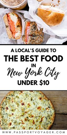 Is it possible to eat well in NYC on a budget? Yes! This insider guide to 20 of the best cheap places to eat in New York City for $10 or less will prove it. #NYC #foodie #newyorkcity #nycfood #budgettravel