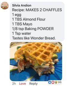 Casserole – The Keto Diet Recipe Cafe Cetogenic Diet, Keto Diet Plan, Low Carb Diet, Low Carb Bread, Keto Bread, Ketogenic Recipes, Low Carb Recipes, Almond Recipes, Keto Waffle