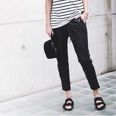 stripes and flats