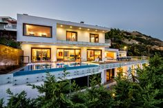 Exterior villas photography in Heraklio Crete.