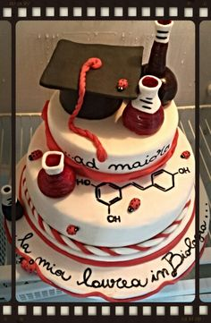 Torta di laurea in farmacia