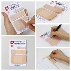 Bandaids post it. I really must have these haha