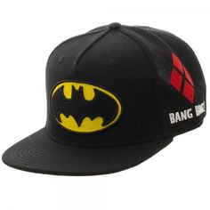 c25ace6675268 Batman Cap - Full Color Omni Snapback