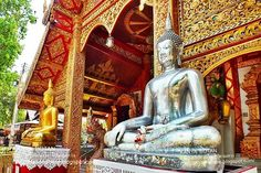 Thailand here.: วัดศรีสุพรรณ เชียงใหม่ Wat Sri Suphan in Chiang Ma. Chiang Mai Thailand, Thailand Travel, Travel Around, Cool Places To Visit, My Images, Bangkok, Countryside, Architecture, Temples