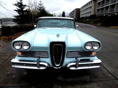 '58 Edsel Pacer | Hemmings..Re-pin Brought to you by agents at #HouseofInsurance in #EugeneOregon for #LowCostInsurance