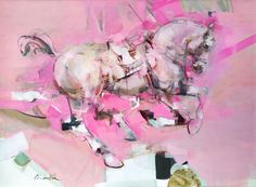 Pascale Chandler | Liquorice Allsorts (2020) - horse paintings for sale | StateoftheART Paintings For Sale, Original Paintings, Horse Paintings, Liquorice Allsorts, Sketch Painting, Large Painting, Beautiful Horses, Oil On Canvas, Pop Art