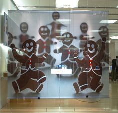 Apple store window display - christmas