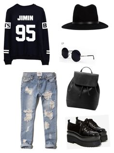 Bts #55 by falloutmissy on Polyvore featuring polyvore, fashion, style, Abercrombie & Fitch, Jeffrey Campbell, MANGO, rag & bone and Una-Home