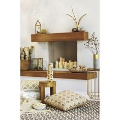 Threshold™ White and Gold Fall Home Decor Collec... : Target
