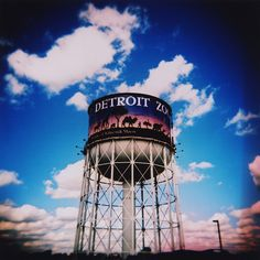 Great picture of the Water Tower at the Detroit Zoo.  Thanks to sara cappuccilli for this one.