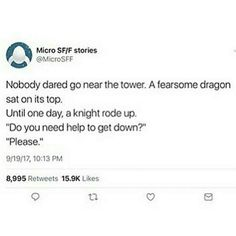 Dragon on a tower
