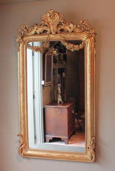 antike-guirlande-spiegel