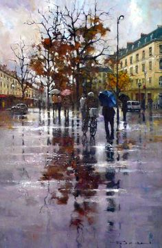Gallery :: Peter Fennell - OIL :: 21 Impressionism, 21st, Fine Art, Gallery, Painting, Oil, Paintings, Art, Roof Rack