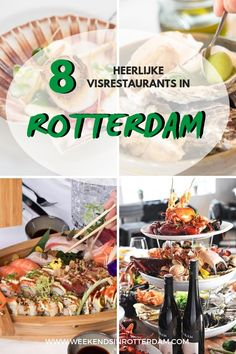 Are you looking for seafood restaurants in Rotterdam? Then check out these 8 amazing hotspots in Rotterdam. It includes fine-dining restaurants, but also casual seafood bars with high quality, fresh fish. Nutrition Tips, Health And Nutrition, Best Fish Restaurant, Travel Tips For Europe, Rotterdam, Foodie Travel, Great Recipes, Traveling By Yourself, Fine Dining