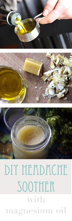 A cooling DIY herbal balm for headache tension relief.