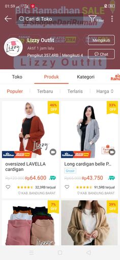 Online Shop Baju, Best Online Clothing Stores, Hijab Style Tutorial, Diy Clothes And Shoes, Modern Hijab Fashion, Casual Hijab Outfit, Clothing Hacks, Health And Beauty Tips, Korean Outfits