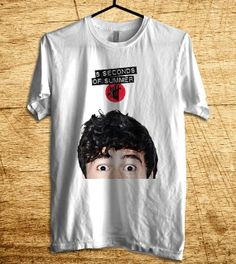 Calum Hood Shirt 5SOS Shirt 5 Second Of Summer T Shirt by MalaAkfa, $18.00