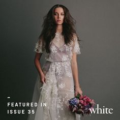 """315 Likes, 6 Comments - WHITE (@whitemagazine) on Instagram: """"When @jennifergifforddesigns is worn, the bride is all the more enchanting. #whiteloves #issue35…"""""""
