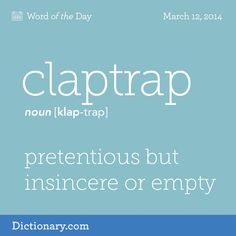 There are few things worse than insincerity. so, yeah, this is a GREAT word to describe it. hehe