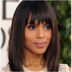 15 Best hairstyles for long hair with bangs » HairStyles for Woman