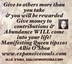 Give to others and abundance will flow Abundance, Flow, Life, Inspiration, Biblical Inspiration, Inspirational, Inhalation