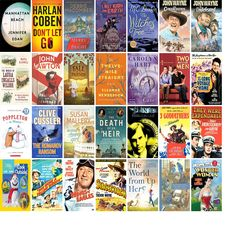 """Wednesday, October 4, 2017: The Monson Free Library & Reading Room has five new bestsellers, 18 new movies, one new audiobook, six new children's books, and ten other new books.   The new titles this week include """"Manhattan Beach: A Novel,"""" """"Don't Let Go,"""" and """"Merry and Bright: A Novel."""""""