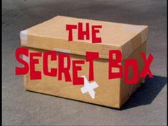 The secret box with a weird picture of spongebob from the Christmas Party. I wish they would show the photo Secret Box, The Secret, Spongebob Episodes, Funny Today, Cherished Memories, One Night Stands, Mystery Box, Spongebob Squarepants, Diy Box