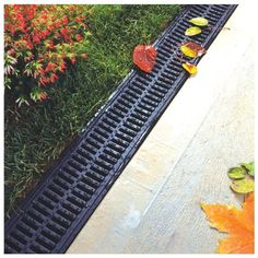 Ground water may also play an important part in drainage, and it's directly associated with rainfall patterns. Driveway Drain, Driveway Paving, Backyard Drainage, Landscape Drainage, Drainage Solutions, Drainage Ideas, House Balcony Design, Surface Water Drainage, Trench Drain
