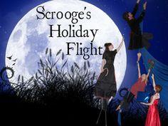 Scrooge's Holiday Flight Boulder, CO #Kids #Events