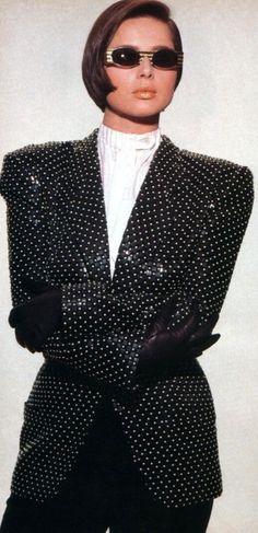 Isabella Rossellini, American Vogue, September 1985.