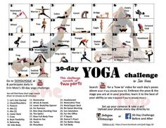 The 30 day yoga challenge! Get in shape with healthy snacks and more from Duane Reade!