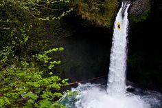 Kayaking Waterfalls | Erik Boomer Photography