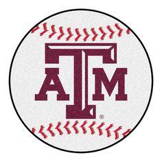 FANMATS NCAA Texas A&M University Baseball Mat