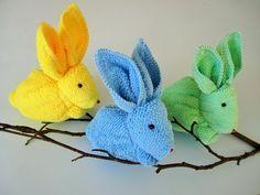 Easy DIY Pom Pom Bunny Pots Easter craft idea for kids. The Best Easy DIY Easter Decoration Ideas. Diy Easy Embroidery, Diy Embroidery Flowers, Hand Embroidery Designs, Butterfly Embroidery, Bunny Crafts, Easter Crafts, Crafts For Kids, Kids Diy, Diy Osterschmuck