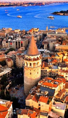 Turkey Travel Inspiration - Insider Istanbul: Where to Eat, Sleep, and Explore - Condé Nast Traveler - Galata Tower Places To Travel, Places To See, Travel Destinations, Travel Around The World, Around The Worlds, Destination Voyage, Turkey Travel, To Infinity And Beyond, Hagia Sophia