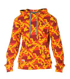 TRUKFIT+Pullover+style+hoodie+Shoe+lace+style+drawstring+ties+on+hood+All-over+geometeric+shapes+print+Single+front+pocket+with+TRUKFIT+logo+Long+sleeves