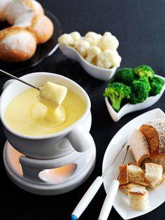 【ELLE a table】チーズフォンデュレシピ|エル・オンライン