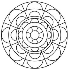 simple free mandalas 29 coloring pages printable and coloring book to print for free. Find more coloring pages online for kids and adults of simple free mandalas 29 coloring pages to print. Mandala Coloring Pages, Colouring Pages, Coloring Pages For Kids, Coloring Books, Mandala Painting, Fabric Painting, Mandala Pattern, Mandala Design, Doodles Sharpie